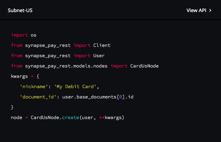 Getting Technical: Synapse API for Card Processing